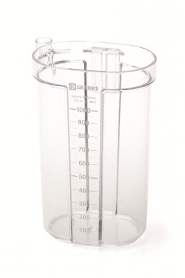 Serres Canister 1000 ml,  Transparent